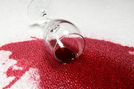 macchia vino
