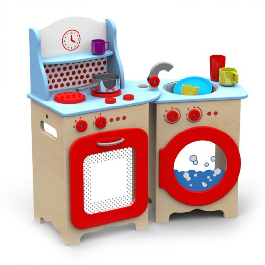 Giochi per bambini regalare giochi educativi per bambini - Cuisine en bois en jouet ...