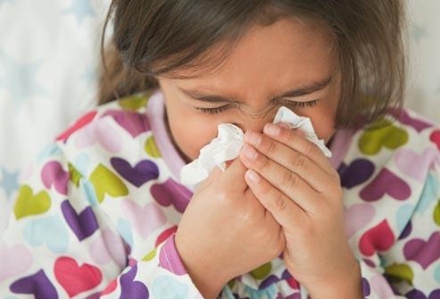 raffreddore bambino