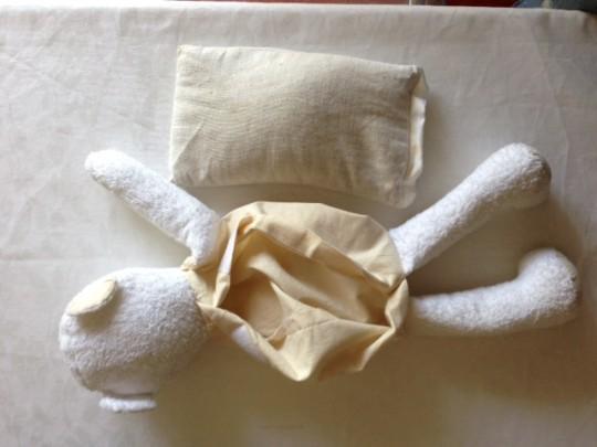 noccioli ciliegia cuscino