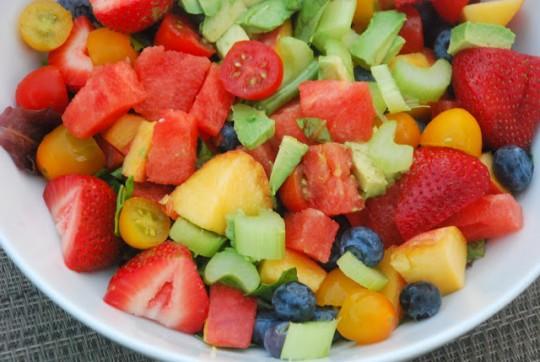 frutta e verdure estive