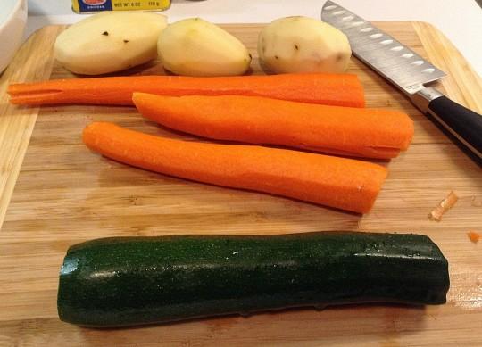verdure per brodo svezzamento