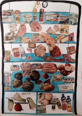 collage il mio frigorifero
