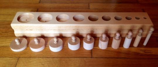 blocco 3 incastri solidi montessori 2