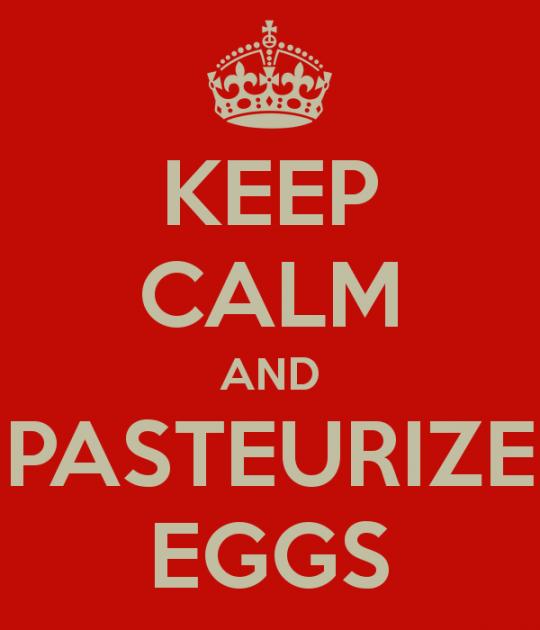 come pastorizzare le uova